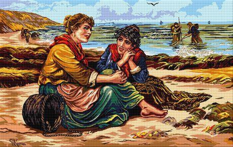Repaus la țărmul mării
