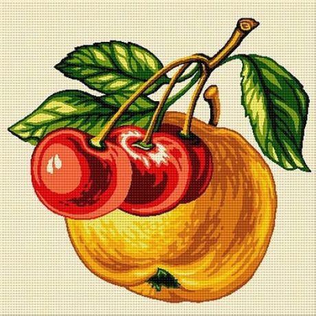 Măr cu cireșe