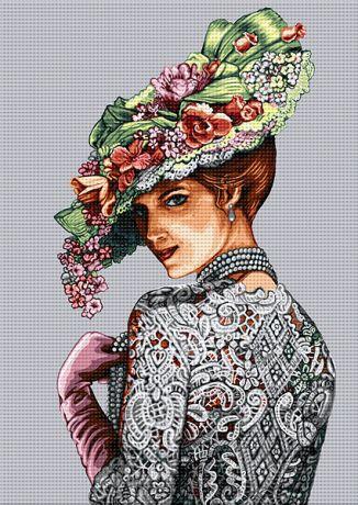 Doamna cu pălărie