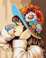 Fetița cu flori