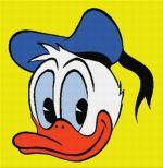 Donald cu bască albastră