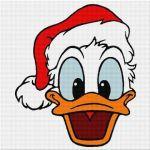 Donald cu căciulă roșie