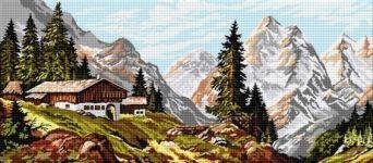 Cabană în Alpi