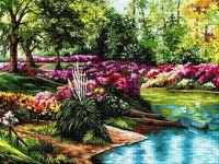 Grădina cu lac