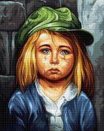 Fetiță plângând