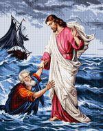 Petru şi Isus pe mare