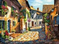 Straduta Italiana cu frizerie si cafenea