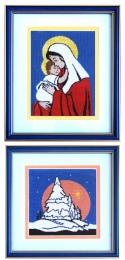 Maria cu pruncul + Iarna