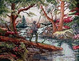 Pescarul din pădure